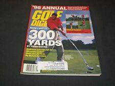 1998 JANUARY GOLF DIGEST MAGAZINE - TIGER WOODS - SP 7264