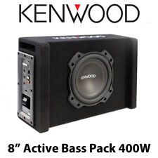 """Kenwood PA-W801B - 8"""" Active Oversized Subwoofer In Ported Enclosure 400W Power"""