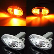 2x Side Indicator Repeater Light For Peugeot 108 107 206 1007 407 Partner  #