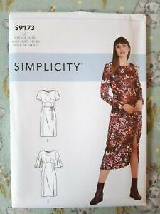Simplicity Sewing Pattern 9173 S9173 Women's Dress Size 6-14 New