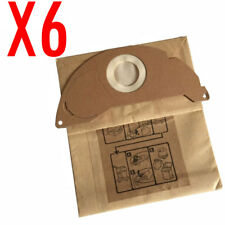 6X Bag For Karcher Carpet Floors Vacuum Cleaner SE 5.100 1.081-200.0 6.904-143.0