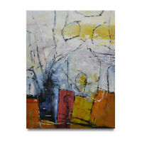 NY Art - Wonderful Modern Abstract 30x40 Original Oil Painting on Canvas - Sale!