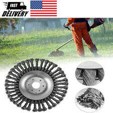 6/8inch Weed Brush Steel Wire Grout Knot Wire Wheel Grass Head Replacement