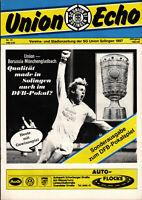 DFB-Pokal 84/85 SG Union Solingen - Borusssia Mönchengladbach, 15.02.1985