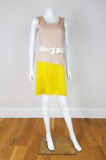 * Lanvin * Vintage Silk e abito di cotone (S)