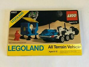 LEGO 6927 CLASSIC SPACE All Terrain Vehicle ATV Outer Box Only1981