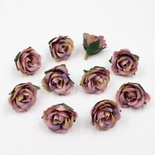 Artificial Flowers For Part Wedding Floral Decoration Mini Silk Roses Head 20pcs