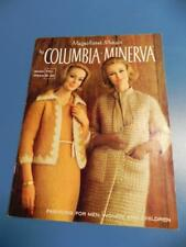 Vtg 60's Magnificent Mohair COLUMBIA MINERVA Pattern Book Vol 750 Retro Sweater