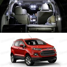 4x LED White Light Interior Bulbs Package Deal for Ford EcoSport 2013-2015 2014