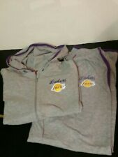 Los Angeles Lakers NBA Womens Track Set: Jacket and Sweatpants Size S