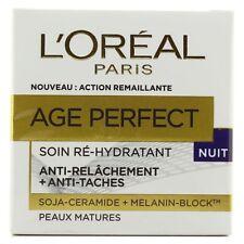 L'Oréal Paris Age Perfect Night – Crème nuit peau mature 50ml