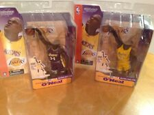 McFarlane NIB NBA Shaquille Shaq O'Neil Series 2 Regular Yellow & Purple Variant