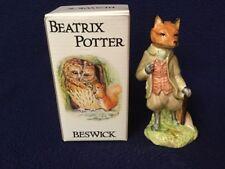 Beatrix Potter's Mr. Tod Beswick Figurine