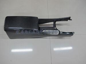 CARBON RHD CENTRE CONSOLE WITH ARMREST COVER FOR SKYLINE R34 GTR GTT