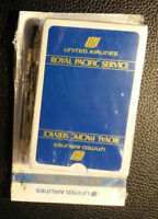 United Airlines SEALED Royal Pacific Service Playing Card Deck / UAL Air Lines