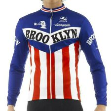 Giordana Brooklyn Long Sleeve Cycling Jersey Mens Size 3XL Italy Blue Red White