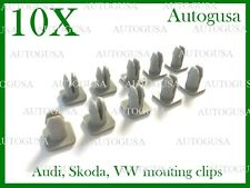 10X NEW AUDI VW SKODA GROMMET INDICATORS MOUNTING CLIPS SPOUTS OEM NR. N90535301