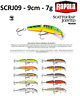 Rapala Scatter Rap® Jointed Floating Fishing Lure 9cm 7g Various Colours