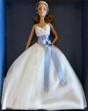 Barbie Monique Lhuillier Novia 2006 NRFB Platino Etiqueta J0975 Lim 999 Piezas