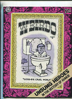 Weirdo # 5 Second Printing July 1982 Robert Crumb underground comix MBX90