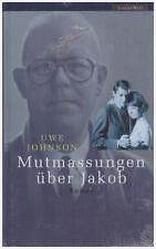 neues Buch, OVP, Uwe Johnson: Mutmassungen über Jakob. Hardcoverausgabe,