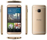 """Débloqué Téléphone 5"""" HTC One M9 3G 4G LTE 32GB 20.0MP Android NFC GPS - Or"""