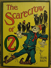 L, Frank Baum THE SCARECROW OF OZ - HC w/ DJ V. Nice!