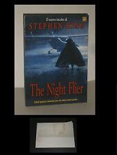 STEPHEN KING - THE NIGHT FLIER - CARTONCINO PUBBLICITARIO CON STAND
