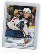2018-19 CHL Hockey Star Rookie Card # 381 Riley Piercey Barrie Colts Right Wing