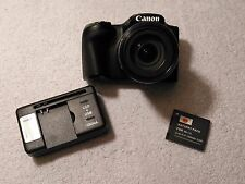 Canon PowerShot SX410 IS 20.0MP 40x Optical Zoom Digital Camera - Black