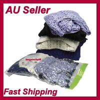 3X Roll-up Large Compression Storage Bag Space Saver Travel Luggage No Vacuum AU