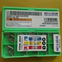 MITSUBISHI CNC TURNING TOOL SCMT09T304 NX2525 SCMT32.5 CARBIDE INSERTS 10PCS//BOX