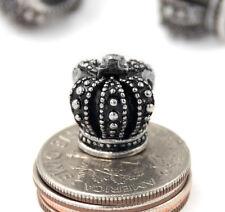 European Crown Charm Beads Fit European Charm Bracelets