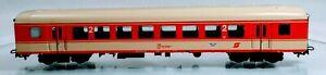 Marklin HO 4034 2nd Class Metal Austrian (OBB) Passenger Car