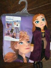 Disney Frozen 2 II 2-Piece Character Bath/Wash NEW Bath Towel Washable Scrubby