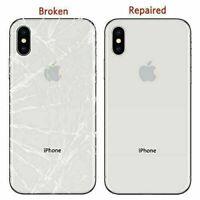Apple iPhone 8 8 Plus X XR XS XS Max 11 11 Pro Max Back Glass Repair Service
