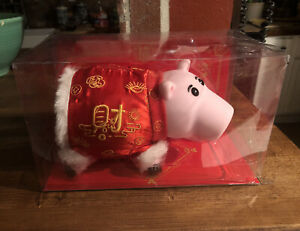 Toy Story 3 Disney Hamm Piggy Bank Kimono Shanghai Japan New Pixar RARE💥🐷🌟