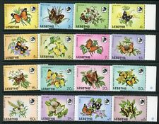 LESOTHO 1984 BUTTERFLY STAMP SET