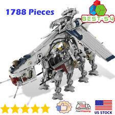 Sets Star Wars Building Blocks Republic Dropship W/ At-Ot Walker 05053 Kids Toys