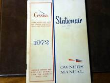 1972 Cessna U206F Stationair Owner's Manual