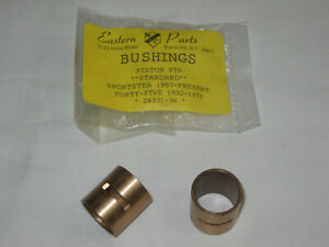"""Replacement Wrist Pin Bushing Set for Harley XL '57 up & 45"""" 'motors 32-'73 (a)"""