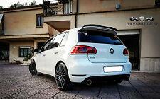 VW GOLF 6 VI GTI GTD Heck Spoiler Ansatz Lasche Dachspoiler CARBON Look mit ABE