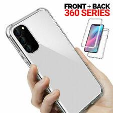 Samsung Galaxy S10 Plus 360° Front & Back Slim TPU Silicone Clear Gel CaseA50,80