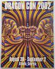 Dragon Con Program Vtg 2002 Collectible Atlanta GA Convention Rare Original HTF
