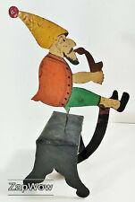 Mecedora GNOME Elf 1990s escultura cinética Sky Gancho Skylink Metal Retro Juguete 90s