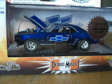 M2 1969 Chevy Camaro Z/28 /RS  Chase 1 of 252 Black Tires 1/64 Diecast