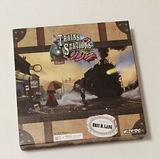 Trains and Stations Strategy Board Game Locomotive Steam Engine Railroad