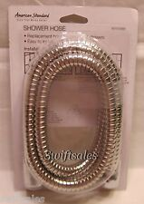 American Standard 5' Stainless Steel Shower Hose - Polished Chrome Finish - New!
