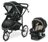 Graco Modes Jogger 2.0 Travel System Stroller w SnugLock 35 LX Car Seat Haven
