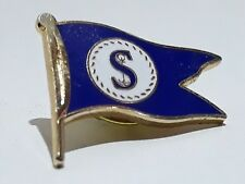 S $ Dollar Anchor Enamel Pin Badge Lapel Brooch Captain Boat